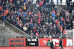 December 16, 2018 - Nimes, France - ILLUSTRATION - SUPPORTERS (Credit Image: © Panoramic via ZUMA Press)