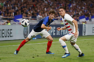 Benjamin Pavard of France during the 2018 Friendly Game football match between France and USA on June 9, 2018 at Groupama stadium in Decines-Charpieu near Lyon, France - Photo Romain Biard / Isports / ProSportsImages / DPPI