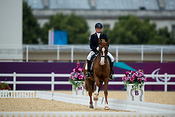 Hannelore Brenner (GER) - Women of the World<br /> Individual Championship Test - Grade Ia<br /> London 2012 Paralympic Games<br /> © Hippo Foto - Jon Stroud
