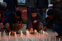 November 18, 2018 - Srinagar, Jammu and Kashmir, India - Kashmiri people take part in the road accident victims World Remembrance Day. (Credit Image: © Muzamil Mattoo/Pacific Press via ZUMA Wire)