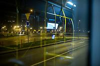 Bialystok, 23.03.2020. Pustki na ulicach Bialegostku podczas epidemii koronawirusa N/z puste ulice miasta wieczorem fot Michal Kosc / AGENCJA WSCHOD