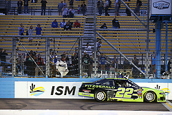 March 10, 2018 - Avondale, Arizona, United States of America - March 10, 2018 - Avondale, Arizona, USA: Brad Keselowski (22) wins the DC Solar 200 at ISM Raceway in Avondale, Arizona. (Credit Image: © Chris Owens Asp Inc/ASP via ZUMA Wire)