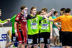 20.04.2018, BSFZ Suedstadt, Maria Enzersdorf, AUT, HLA, SG INSIGNIS Handball WESTWIEN vs Alpla HC Hard, Bonus-Runde, 8. Runde, im Bild Viggo Kristjansson (SG INSIGNIS Handball WESTWIEN) // during Handball League Austria, Bonus-Runde, 8 th round match between SG INSIGNIS Handball WESTWIEN and Alpla HC Hard at the BSFZ Suedstadt, Maria Enzersdorf, Austria on 2018/04/20, EXPA Pictures © 2018, PhotoCredit: EXPA/ Sebastian Pucher