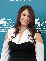 Afef Ben Mahmoud at the photocall for the film The Scarecrows (Les Épouvantails) at the 76th Venice Film Festival, on Thursday 29th August 2019, Venice Lido, Italy.