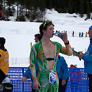Winter Olympics, Vancouver, 2010.Peter James Barron, Ireland, in action during the Men's 15km Cross Country Skiing event at The Whistler Olympic Park, Whistler, during the Vancouver Winter Olympics. 14th February 2010. Photo Tim Clayton