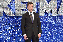 Taron Egerton attending the Rocketman UK Premiere, at the Odeon Luxe, Leicester Square, London.Picture date: Monday May 20, 2019. Photo credit should read: Matt Crossick/Empics