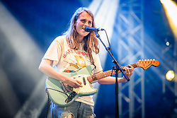 © Licensed to London News Pictures. 25/08/2017. Reading Festival 2017, Reading, UK. Marika Hackman performs at Reading Festival 2017. <br /> Photo credit: Andy Sturmey/LNP