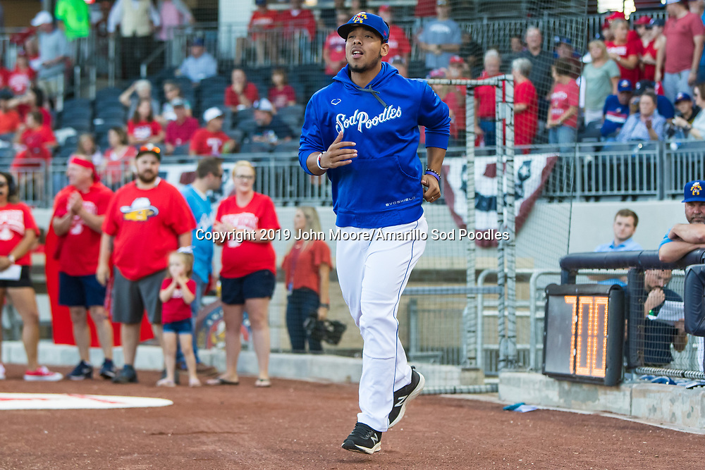 Amarillo Sod Poodles pitcher Luis Patino (35) against the Tulsa Drillers during the Texas League Championship on Tuesday, Sept. 10, 2019, at HODGETOWN in Amarillo, Texas. [Photo by John Moore/Amarillo Sod Poodles]