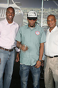 l to r: Kevin Frazier, Mos Def and Marc Perry at Lincoln Presents ' Off the Red Carpet ' during the 2008 American Black Film Festival held at the Sofitel Hotel on August 8, 2008