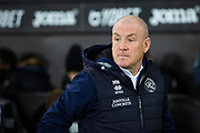 Queens Park Rangers manager Mark Warburton ahead of the EFL Sky Bet Championship match between Swansea City and Queens Park Rangers at the Liberty Stadium, Swansea, Wales on 11 February 2020.