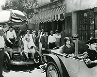 1927 Filming at Fox Studios in Hollywood