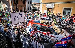 Start during the UCI Class 1.2 professional race 4th Grand Prix Izola, on February 26, 2017 in Izola / Isola, Slovenia. Photo by Vid Ponikvar / Sportida