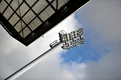 A general view of the floodlight at Ewood Park