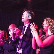 NLD/Hilversum/20140517 - Edwin van der Sar Foundation ontvangt de Majoor Bosshardt Prijs 2014, Edwin van der Sar en partner Annemarie