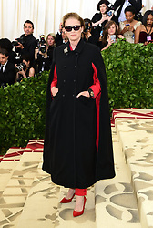 Lisa Love attending the Metropolitan Museum of Art Costume Institute Benefit Gala 2018 in New York, USA.
