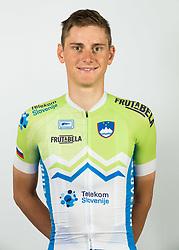 Matej Mahoric during photo session of Slovenian Cycling Team for 2018 UCI Road World Championships Innsbruck, on September 17, in Spodnji Brnik, Slovenia. Photo by Vid Ponikvar / Sportida
