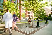 CHARLESTON, SC – MAY 12, 2017: Scenes from the Medical University of South Carolina.