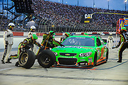 May 10, 2013: NASCAR Southern 500. Danica Patrick, Chevrolet , pitstop , Jamey Price / Getty Images 2013 (NOT AVAILABLE FOR EDITORIAL OR COMMERCIAL USE