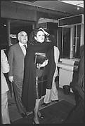 Barbara Amiel and Lord Weidenfeld. Lucian Freud pv. Hayward, South Bank. February 1988.