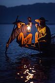 Myanmar, Inle Fishermen