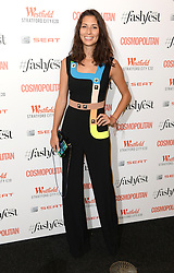 Jasmine Hemsley attending the Cosmopolitan FashFest 2016, Old Billingsgate Market, London. Picture credit should read: Doug Peters/EMPICS Entertainment