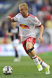 May 27, 2017 - Harrison, New Jersey, U.S - New York Red Bulls forward MIKE GRELLA (13) in action at Red Bull Arena in Harrison New Jersey New York defeats New England 2 to 1 (Credit Image: © Brooks Von Arx via ZUMA Wire)