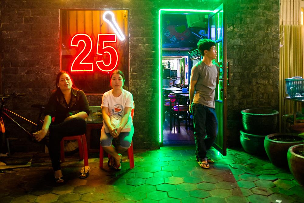 Karaoke Bar in Phnom Penh, Cambodia. <br /> Photo by Lorenz Berna