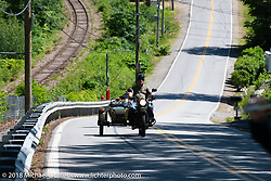 Riding Scenic Road during Laconia Motorcycle Week. NH, USA. Friday, June 15, 2018. Photography ©2018 Michael Lichter.