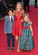 22-09-14: 'What We Did on Our Holiday' - <br /> World Premiere, Bobby Smalldridge, Emelia Jones and Harriet Turnball arrive<br /> ©Exclusivepix