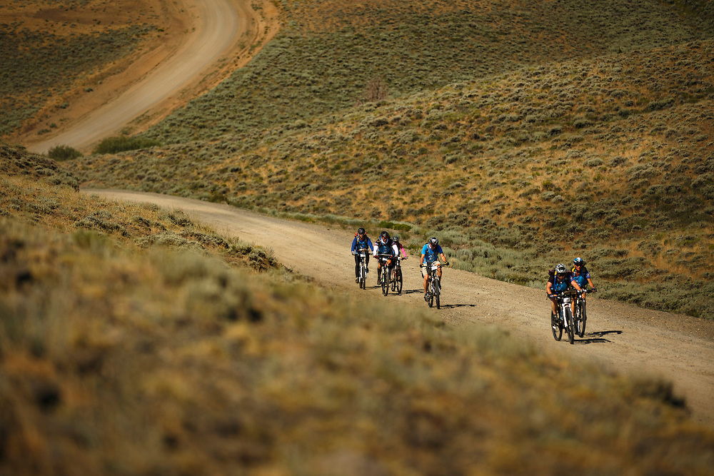 Day one of the 2014 Cowboy Tough Expedition Race takes competitors from South Pass City to Sinks Canyon.