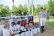 JUNIOR POLO TEAMS; LOS CHANCOS; LOS MONOS; H.R.H. PRINCE WILLIAM, The Dalwhinnie Crook  charity Polo match  at Longdole  Polo Club, Birdlip  hosted by the Halcyon Gallery. . 12 June 2010. -DO NOT ARCHIVE-© Copyright Photograph by Dafydd Jones. 248 Clapham Rd. London SW9 0PZ. Tel 0207 820 0771. www.dafjones.com.