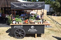 Latitude Festival, Henham Park, Suffolk, UK July 2018. New this year, a Russian vodka bar