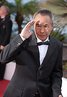 Hou Hsiao-Hsien, winner of the Best Director prize for his film The Assassin at the Palm D'Or award winners photo call at the 68th Cannes Film Festival Sunday May 24th 2015, Cannes, France.