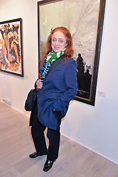CAMILLA LOWTHER at a private view of the exhibition Transcending Boundaries 2015 held at Lacey Contemporary Gallery, Clarendon Cross, Notting Hill, London on 30th April 2015.