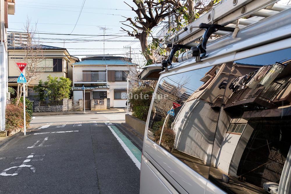 neigborhood street scene Yokosuka Japan