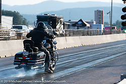 Baker Drivetrain Run-What-You-Brung-Drags at the Sturgis Dragway during the Sturgis Motorcycle Rally. Sturgis, SD, USA. Wednesday, August 11, 2021. Photography ©2021 Michael Lichter.