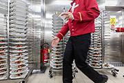 COSTA CROCIERE: piatti pronti per essere portati in sala per la cena. getting ready for dinner at the a la carte restaurant. 200 chefs and 300 waiters have to be ready to serce 4146 meals par day