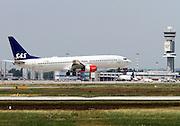 SAS, Boeing 737-800 New Gen, at Milan, Italy