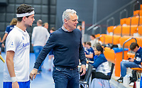 ROTTERDAM - Venlo coach Oliver Kurtz ,  heren Pinoke-Venlo  ,hoofdklasse competitie  zaalhockey.   COPYRIGHT  KOEN SUYK