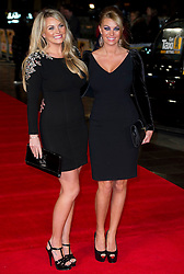 Billi Mucklow arrives for the Run For Your Wife - UK film premiere Odeon -Leicester Sq- London Brit comedy about a happily married man - with two wives, Tuesday  February 5, 2013. Photo: Andrew Parsons / i-Images
