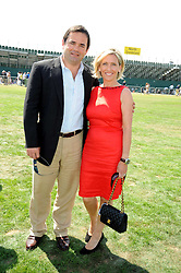 WILL & LISA CARLING at the Cartier International Polo at Guards Polo Club, Windsor Great Park on 27th July 2008.<br /> <br /> NON EXCLUSIVE - WORLD RIGHTS