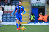 Callum Camps during the EFL Sky Bet League 1 match between Rochdale and Coventry City at Spotland, Rochdale, England on 9 February 2019.