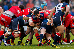Bristol Rugby Flanker Marco Mama - Mandatory byline: Rogan Thomson/JMP - 18/05/2016 - RUGBY UNION - Castle Park - Doncaster, England - Doncaster Knights v Bristol Rugby - Greene King IPA Championship Play Off FINAL 1st Leg.