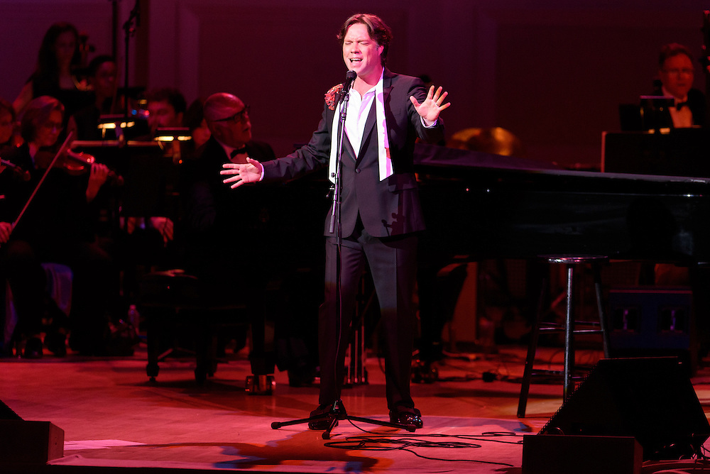 """Photos of the musician Rufus Wainwright performing """"Rufus Does Judy At Carnegie Hall"""" live on stage at Carnegie Hall, NYC on June 16, 2016. © Matthew Eisman/ Getty Images. All Rights Reserved"""