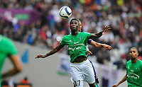 Fotball<br /> Frankrike<br /> Foto: Panoramic/Digitalsport<br /> NORWAY ONLY<br /> <br /> Jonathan Bamba (asse)<br /> Toulouse vs St Etienne - Day1 French L1 - 08/09/2015