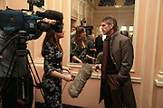 Jeremy Irons, Oldie of the Year Awards. Simpsons-in-the-Strand. London. 13 March 2007.  -DO NOT ARCHIVE-© Copyright Photograph by Dafydd Jones. 248 Clapham Rd. London SW9 0PZ. Tel 0207 820 0771. www.dafjones.com.