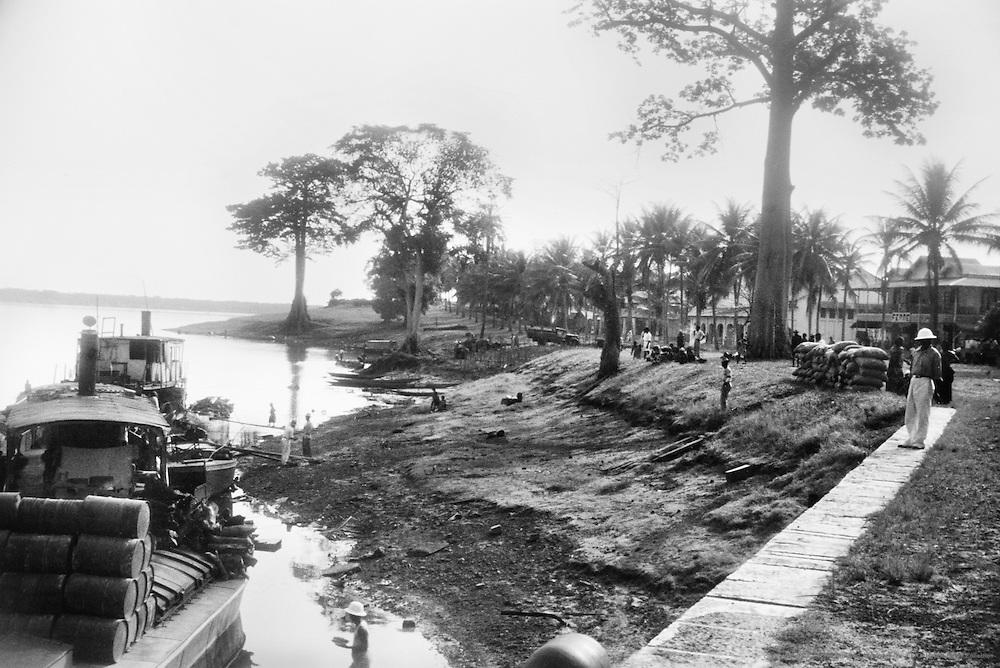 Steamer, Coquilhatville (now Mbandaka), Belgian Congo (now Democratic Republic of the Congo), Africa, 1937