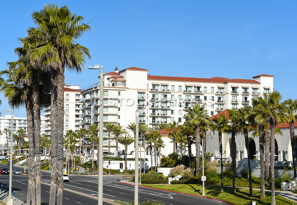 The Hilton Waterfront Beach Resort on Pacific Coast Highway and Twin Dolphin