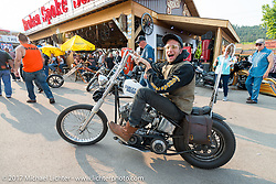 Iron Horse Saloon during the annual Sturgis Black Hills Motorcycle Rally. Sturgis, SD. USA. Saturday August 5, 2017. Photography ©2017 Michael Lichter.