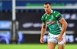 Alberto Sgarbi of Benetton Treviso<br /> <br /> Photographer Craig Thomas/Replay Images<br /> <br /> Guinness PRO14 Round 4 - Ospreys v Benetton Treviso - Saturday 22nd September 2018 - Liberty Stadium - Swansea<br /> <br /> World Copyright © Replay Images . All rights reserved. info@replayimages.co.uk - http://replayimages.co.uk